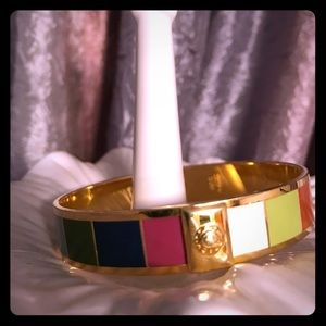 COACH Legacy Stripe bangle